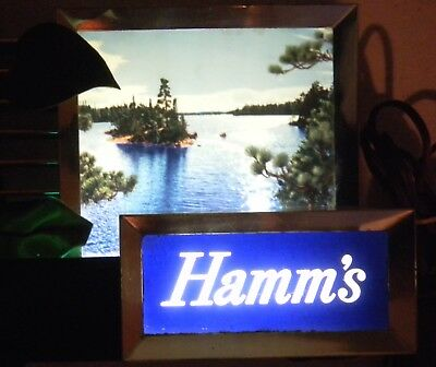 Hamm's Cash Register Beer Light Works Fine Hamm Hamms Man Cave Low Open