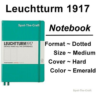 Leuchtturm1917 - Dotted Journal / Notebook - Medium A5 - Emerald Green