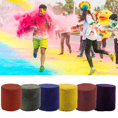 Smoke Cake Colorful Smoke Effect Show Round Bomb Stage Photography Aid Toys
