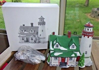 Dept 56 New England Village - Craggy Cove Lighthouse FREE SHIPPING