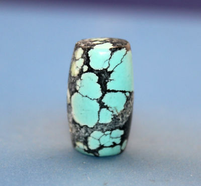 23*13 mm Antique Undressed dzi turquoise old Bead from Tibet **Free shipping**