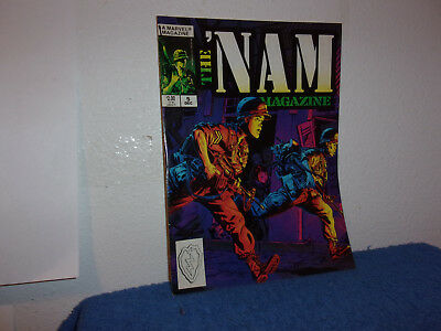 Vintage (New) Marvel The Nam Magazine # 5 .(In A Comic Book)..dec,1988.....#005