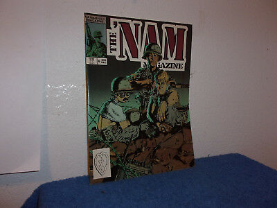 Vintage (New) Marvel The Nam Magazine # 6 (In A Comic Book)..mid-Dec,1988...#006