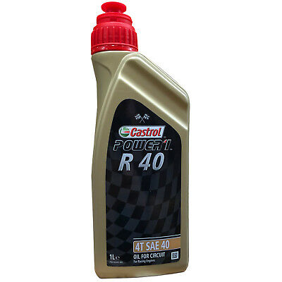 1L Castrol Power 1 R40 Racing Competition Oil SAE 40 4 Stroke 1 Litre