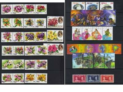 (468) Niue Mh Collection Incl Sets Cat £40+