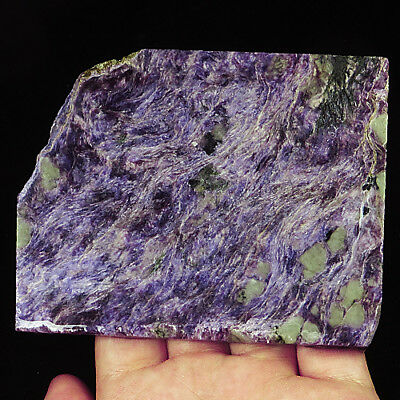 671.3CT 100% Natural Charoite Facet Rough Specimen YCH1604