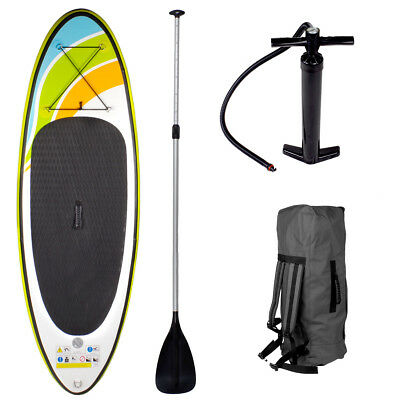 SUP Board Stand Up Paddle Surf-Board aufblasbar + Paddel 213x71x10cm 2.Wahl