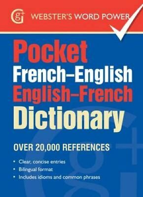 Pocket French-English English-French Dictionary Over 20,000 Ref... 9781910965368