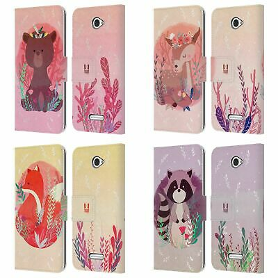 Head Case Designs Woodland Animals Leather Book Wallet Case For Sony Phones 2