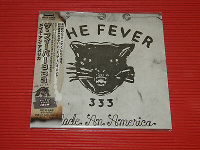 2018 Japan Cd The Fever 333 Made An America Ep With Bonus Tracks