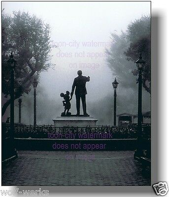 Walt Disney Mickey Mouse in the Fog Disneyland Partner Statue NEW Main Street