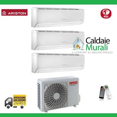 Climatizzatore Ariston Trial Alys Plus R-32 9+9+12 Btu Wi-Fi Con 80 Xd0C-O New