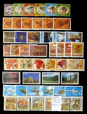 ZIMBABWE 1988 to 2001 Complete Sets U/M NJ477