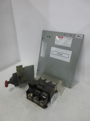 GE 8000 Series 450 Amp Main Breaker Type MCC Feeder Bucket 450A General Electric