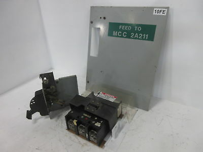 GE 8000 Series 250 Amp Main Breaker Type MCC Feeder Bucket 250A General Electric