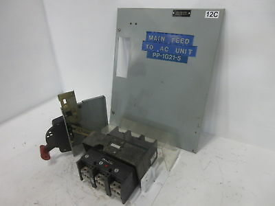 GE 8000 Series 250 Amp Main Breaker Type MCC Feeder Bucket 250A TJK436F000
