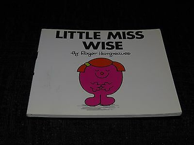 Little Miss Wise by Roger Hargreaves Mr Men Collection book L21