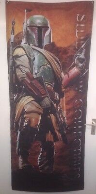 ++ Sideshow Collectibles Banner Star Wars Boba Fett 76 x 183 cm ++