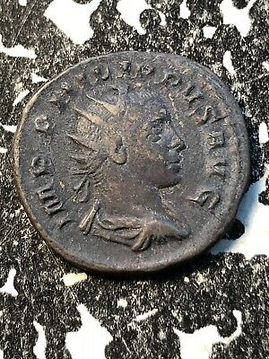 (247-249) Phillip II Ancient Roman Coin AE Lot#A194 ~22mm