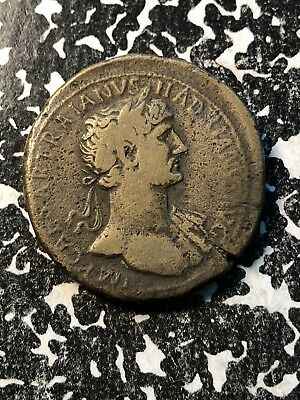 (117-138) Hadrianus Ancient Roman Coin AE Lot#A197 ~36mm