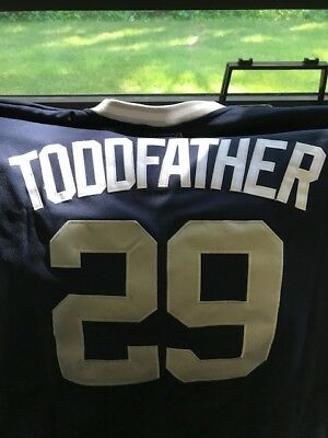 BRAND NEW Todd Frazier TODDFATHER Yankees Majestic Official Player Jersey - MLB