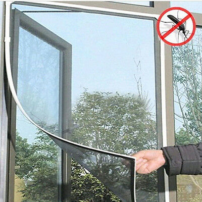 Anti-Insect Fly Bug Mosquito DIY Window Door Curtain Net Mesh Screen Protector