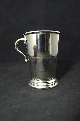 Collapsible German Silver and Vermeil Cup. Marc Cross