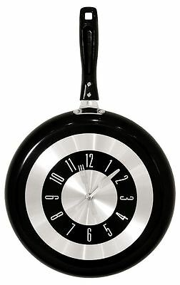 Clock Frying Pan Creative Gifts Kitchen Stylish Wall Hangings Unique Gifts Home