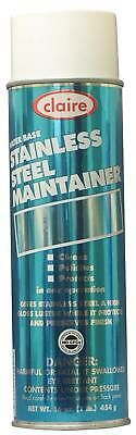 Claire 844 16oz Water Base Stainless Steel Maintainer Spray, 12-Pack