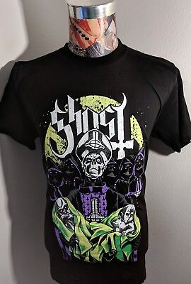 New Ghost Swedish Rock Band Green Purple Papa Emeritus Babies Baby Black T Shirt