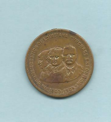 1903/1904 Louisiana Purchase Exposition Merchant Token