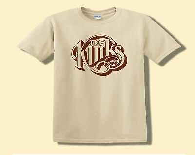 The Kinks T-Shirt Tee, T Shirt Adult S M L XL, Ray Davies Classic 60s Pop