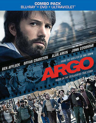 ARGO (Blu-ray/DVD, 2013, 2-Disc Set) New / Factory Sealed / Free Shipping