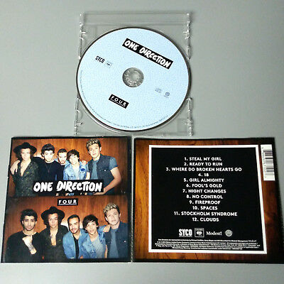 One Direction - FOUR 2014 USA CD VG #1366