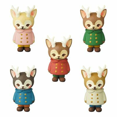 Medicom Toy VAG Series 16 Morris The Cat with Antlers Completed Set 5pcs