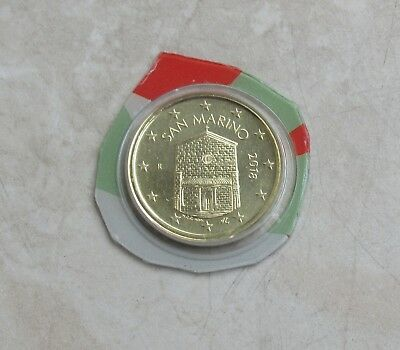 SAN MARINO 2018 - 10  Cent in FDC - aus KMS
