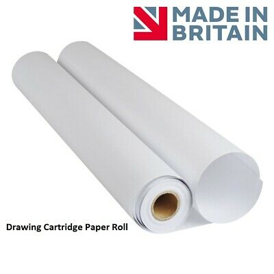 Frisk Drawing Cartridge Paper Roll 10 Meters White (150gsm 841mm x 10m)
