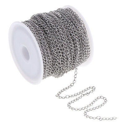 13yd Stainless steel Cable Chain 2.9mm Wide DIY Beading Crafts Findings