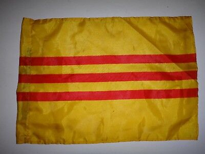Vietnam War REPUBLIC OF VIETNAM ARVN Small Size Battle Flag