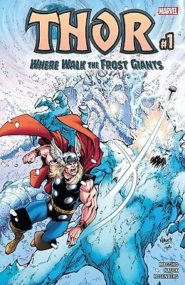 THOR WHERE WALK THE FROST GIANTS #1, New, First print, Marvel Comics (2017)
