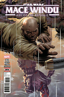 STAR WARS MACE WINDU JEDI OF THE REPUBLIC #3, Marvel Comics (2017)
