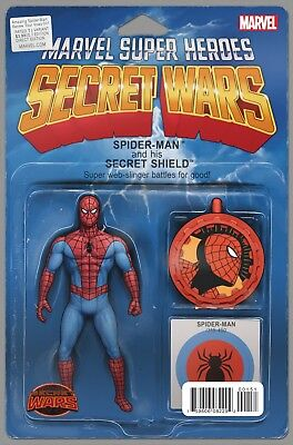AMAZING SPIDER-MAN RENEW YOUR VOWS #1, ACTION FIGURE VARIANT, New, Marvel (2015)