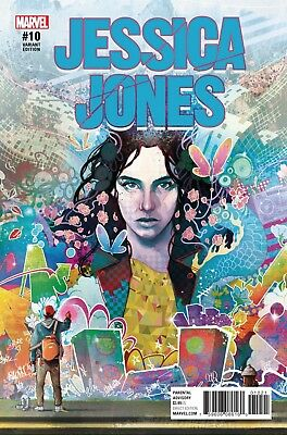 JESSICA JONES #10, SIMMONDS VARIANT, New, First print, Marvel NOW (2017)