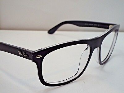 1618533f8c Authentic Ray-Ban RB 4226 6052 9A Black Transparent Sunglasses Frame  225