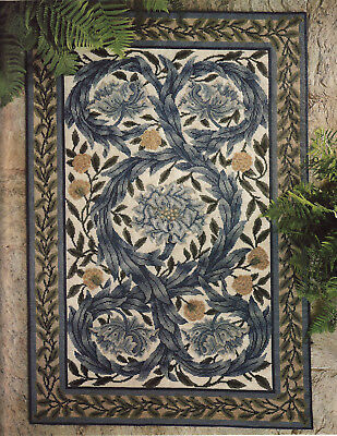 African Marigold William Morris Beth Russell Tapestry Needlepoint Chart Large