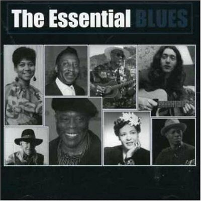 The Essential Blues NEW 2CD RORY GALLAGHER,TAJ MAHAL,BUDDY GUY,ALLMAN BROTHERS +