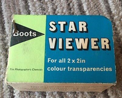 Vintage Boots Star Viewer In Box
