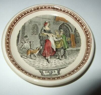 Vintage Butter Pat Adams Cries of London Butter Pat Rare Made in England