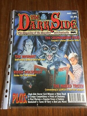 The Dark Side Magazine #20 May 1992 *pre Cert Coverage* Video Nasties Special!