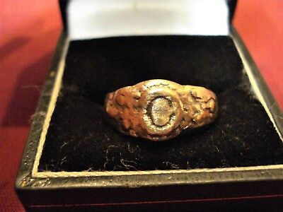 Ancient Byzantine / Medieval Ring--Detector Find